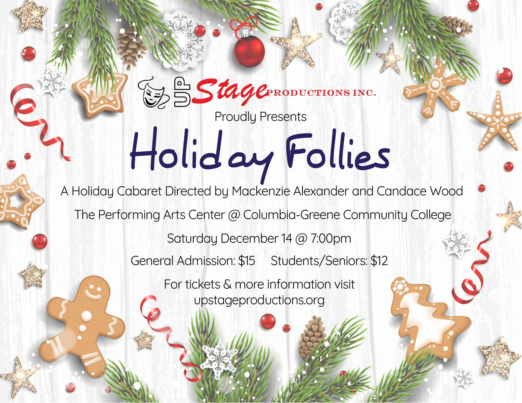 holiday follies poster
